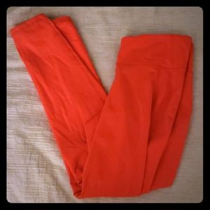 Old navy orange/pink active leggings